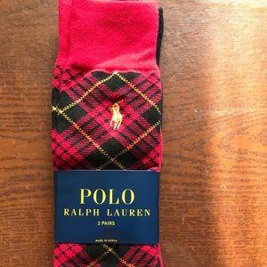 Polo Ralph Lauren 2 pks of Socks